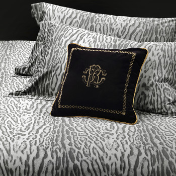 Ocelot Duvet Set - Grey