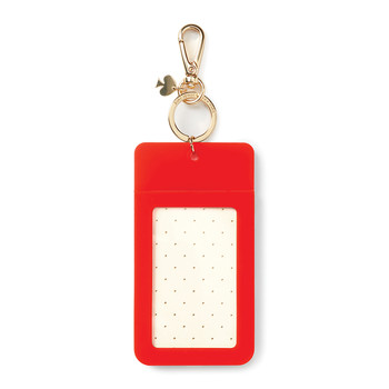 'Why Hello There' Luggage Tag - Pink Colorblock