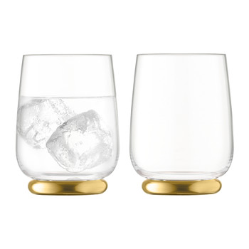 Oro Tumbler - Set of 2 - Matt Gold