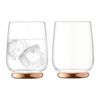 Oro Tumbler - Set of 2 - Rose Gold