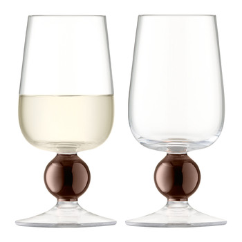 Oro White Wine Glass - Copper