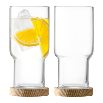 Utility Highball with Coaster - Set of 2