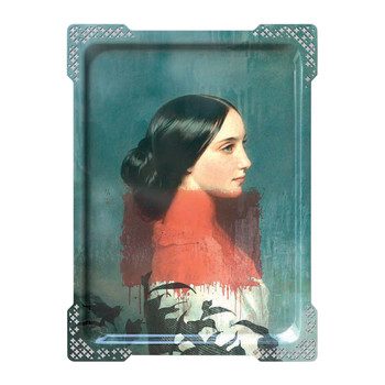 Galerie De Portraits - Large Rectangular Tray - IDA - 1