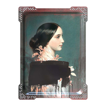 Galerie De Portraits - Large Rectangular Tray - IDA - 4