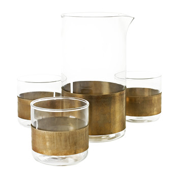 Copper Glass Tumbler