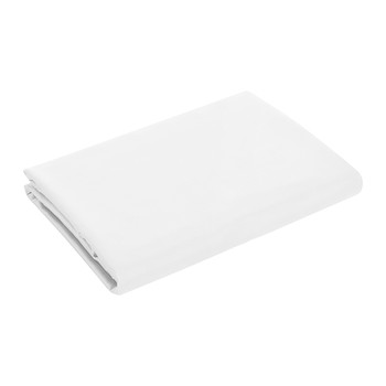 Cotton Sateen 300 Thread Count Flat Sheet - White