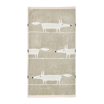 Mr Fox Towel - Blush