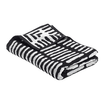 'He' Towel - Black