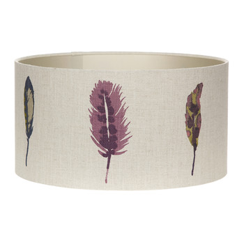 Limosa Loganberry Lamp Shade - Table