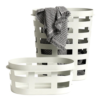 Laundry Basket - Light Grey - Large