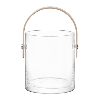 Circle Container & Ash Handle - Clear