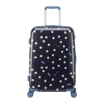 Vintage Dog Dot Suitcase