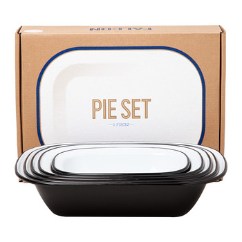 Pie Set - Coal Black