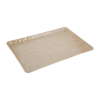 Alligator Vanity Tray - Caramel