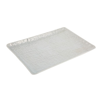 Alligator Vanity Tray - Pearl Gray
