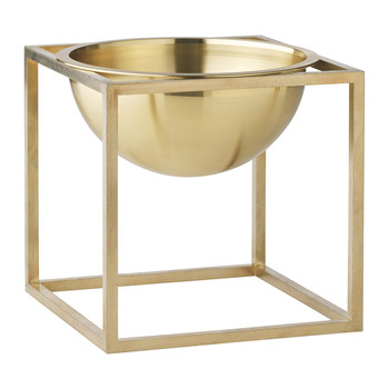 Kubus Bowl - Brass - Small
