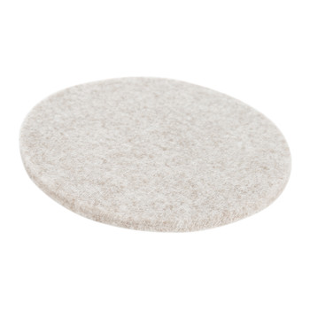 Merino Wool Round Coasters - Set of 4 - Beach Melange