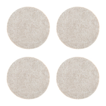 Chartwell Merino Wool Coasters - Set of 4 - Beach Melange