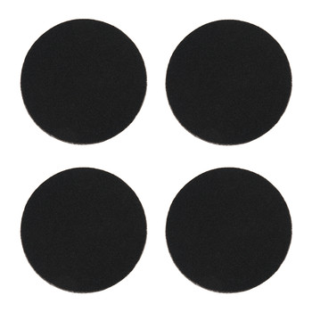 Rosemont Merino Wool Coasters - Set of 4 - Coal Black