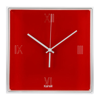 Tic&Tac Wall Clock - Red