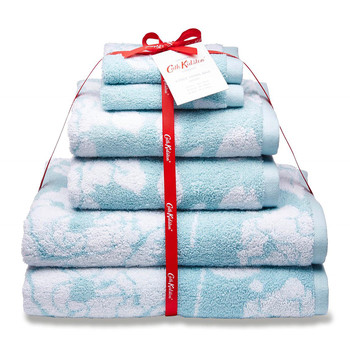 Mono Rose Towel Set - 6 Piece