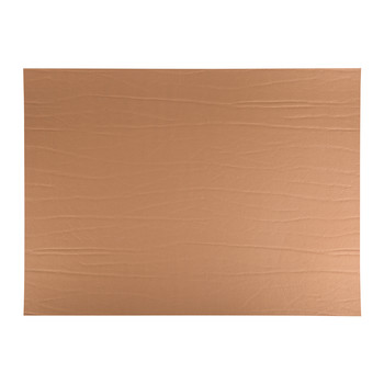 Recycled Leather Placemat - Bronze