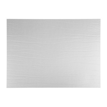 Leather Placemat - Silver