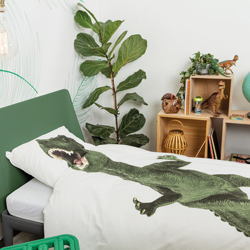 Ensemble Housse de Couette Dinosaure - Simple