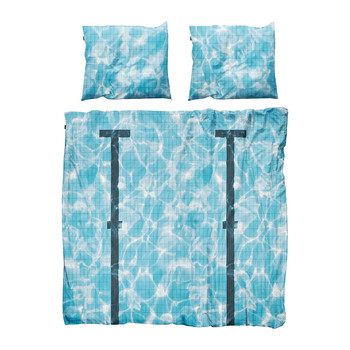 Pool Duvet Set - Double