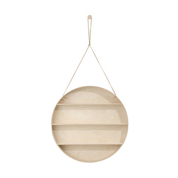 Round Dorm Hanging Shelf