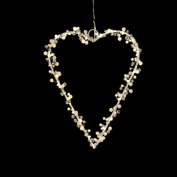 Juliet Heart Light Decoration - 30 LEDs