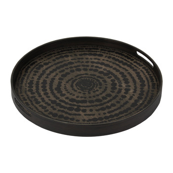 Black Beads Driftwood Tray - Small