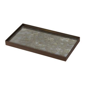 Fossil Organic Glass Tray - Medium