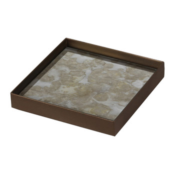 Fossil Organic Glass Tray - Small