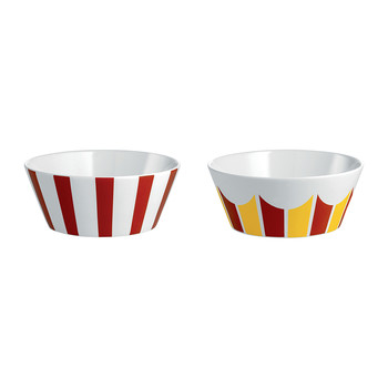Circus Small Bowl - Set of 2 - Stripe
