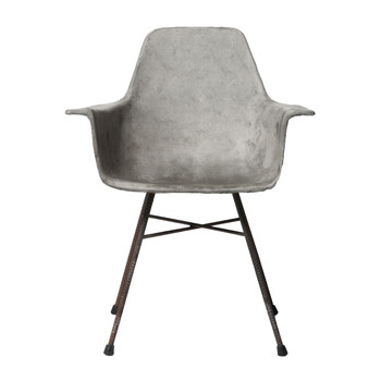 Concrete Hauteville High Armchair