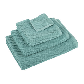 Roberto Towel - Green/Grey