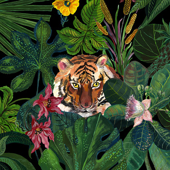 Nathalie Lete - Jungle Placemat - Tiger