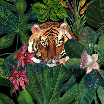 Nathalie Lété - Jungle Table Mat - Tiger