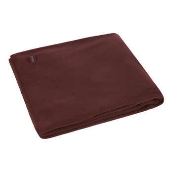 Large Soft Fleece Blanket - Wine