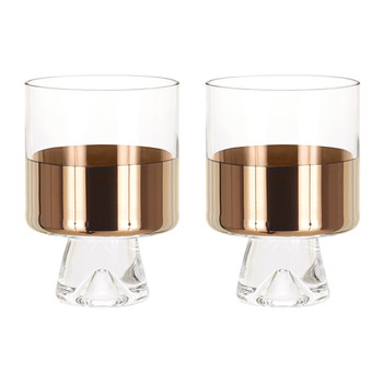 Tank Low Ball Glasses - Set of 2