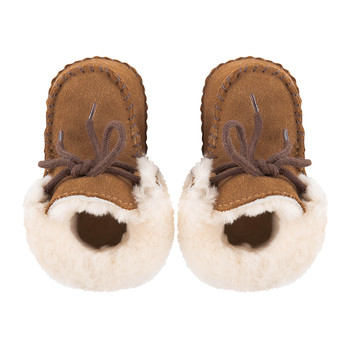 Sparrow Infant Boots - Chestnut