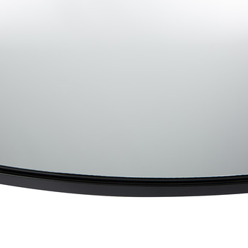 Large Wall Mirror - Round - Clear