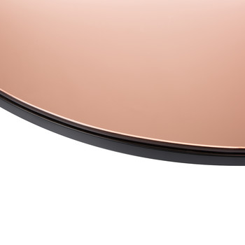 Wall Mirror - Round - Rose Gold