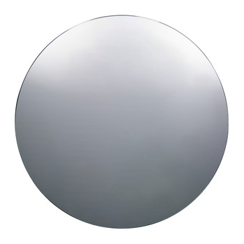 Large Wall Mirror - Round - Grey