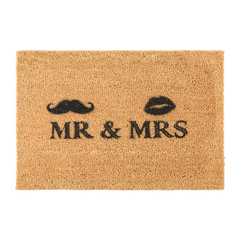 Mr & Mrs Door Mat