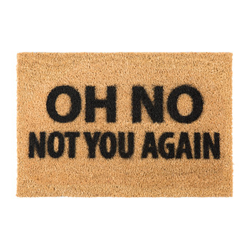 Not You Again Door Mat