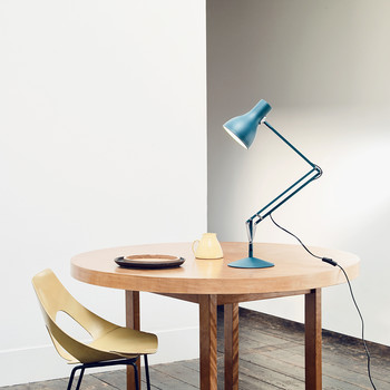 Margaret Howell Type75 Desk Lamp - Saxon Blue