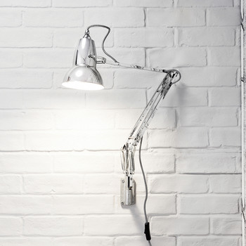 Original 1227 Wall Mounted Lamp - Bright Chrome