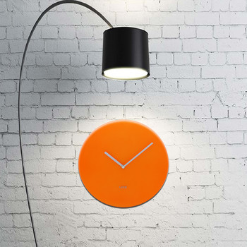 Neon Wall Clock - Orange